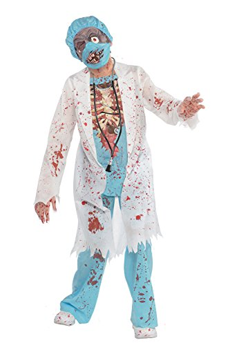 Amscan 999646/999647 Zombie MD - Zombie MD - 12-14 Years (Paramedic Costume)
