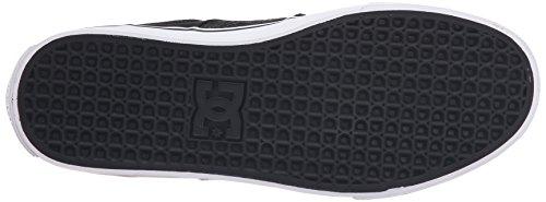 Dc Mens Lynx Vulc Tx Se Chaussure De Skate Délavé Noir
