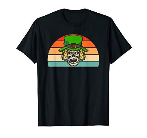 Scary Leprechaun TShirt Funny Vintage St Patricks Day Gift T]()
