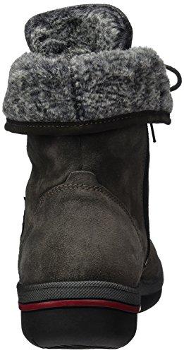 Waldläufer Hadessa, Women's Warm-Lined Short-Shaft Boots and Bootees Multicolour (Velour Denver Velour Schiefer Asphalt)