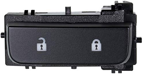 APDTY 012220 Power Door Lock Switch Front Left Driver Side 2007-2012 Chevorlet Silverado & GMC Sierra 1500 2500 3500 (Models With Power Windows ONLY; Replaces 15804093)