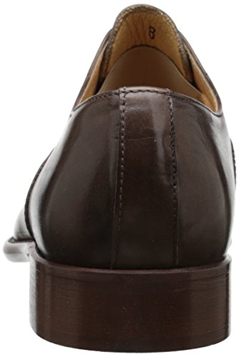 Kenneth Cole New York Mens Beep-er Oxford Dark Taupe