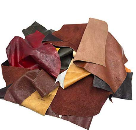 Leather Strips, Shapes, & Scraps