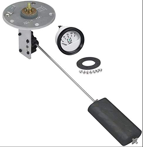 Moeller 035726-10, Fuel Tank Sending Unit, Electric, 4 to 28 Inch Tank Depth, Includes Gauge