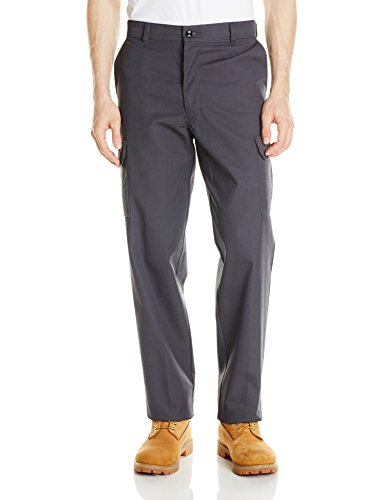 Red Kap Men's Industrial Cargo Pant, Charcoal, 30x30 - Red Kap Twill Slacks