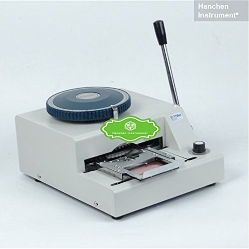 Hanchen Instrument Manual Name Code Printer PVC Card Embossing Letterpress Rotogravure Printing Machine