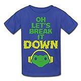 Youth's Oh Lets Break It DOWN 5.2 Oz T-shirt