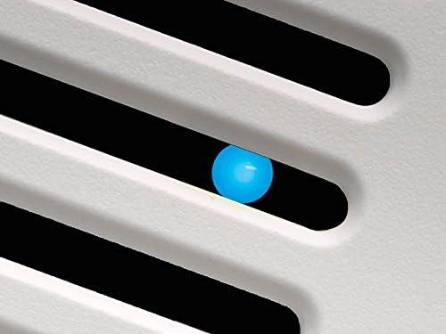 Delta Electronics Americas Ltd. GBR100HLED Delta BreezGreenBuilder Series 100 CFM Fan Dimmable H, 13.6W, 1.5 Sones, LED Light, Dual Speed Humidity Sensor