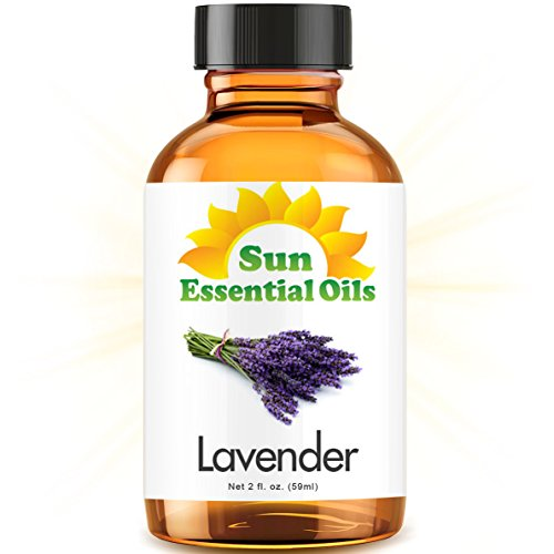 Lavender (2 fl oz) Best Essential Oil - 2 ounces (59ml)