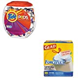 KITCOX70427PAG50978 - Value Kit - Procter amp; Gamble Professional Pods (PAG50978) and Glad ForceFlex Tall-Kitchen Drawstring Bags (COX70427)