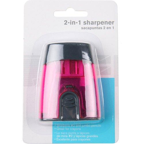 2 Hole Pencil Sharpener 3 Pack (Walmart Pencil Sharpener)