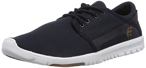 Cheap Etnies Men's Scout Skateboard Shoe, Navy/White/Gum, 13 M US