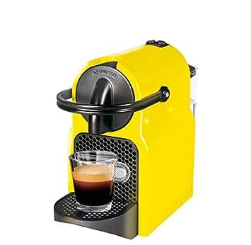 Magimix Inissia Independiente Totalmente automática Máquina de café en cápsulas 0.7L 1tazas Negro, Amarillo