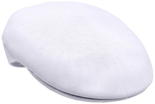 Kangol Men's Heritage Collection Tropic Yarn 504 Classic Hat, White (Large)