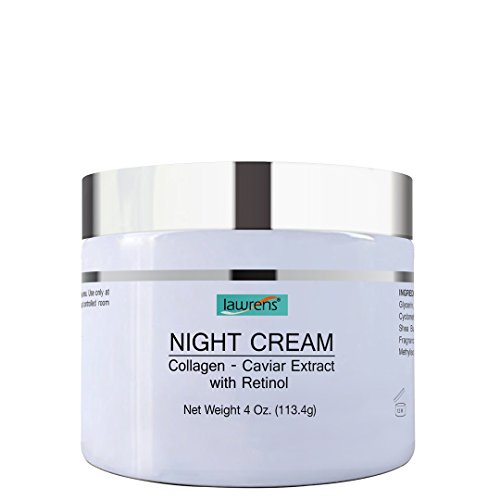 (Night Cream/Collagen/Caviar Extract/Retinol/4 oz)
