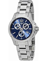Conquest Chronograph Blue Dial Ladies Watch L3.379.4.96.6