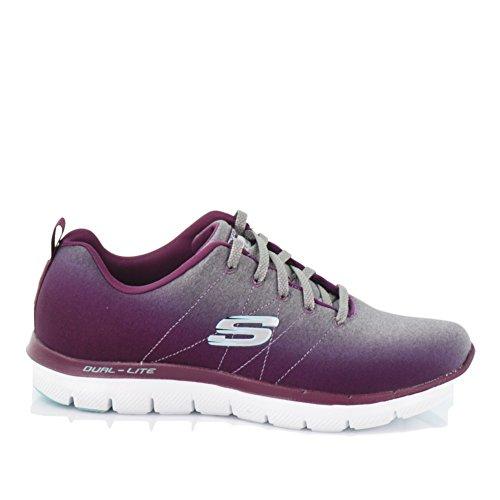 Flex 2 7 Appeal High Purple 0 Outdoor US Skechers M Multisport Shoes Women's Multicolored Energy R1qnUt5Cx