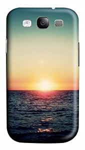 Sea Waves Sunset Polycarbonate Hard Case Cover for Samsung Galaxy S3 / SIII / I9300