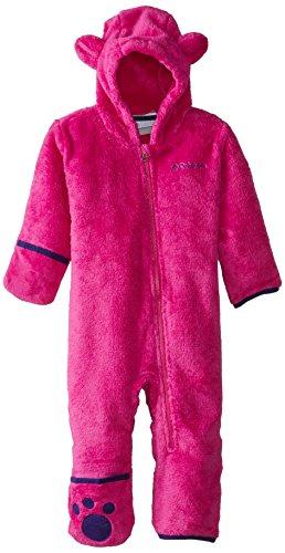 Columbia Baby Girls' Foxy Baby II Bunting, Groovy Pink/Hyper Purple, 6-12 Months