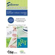 Silicone Release Paper: Non-Stick Applique Release Transfer Paper