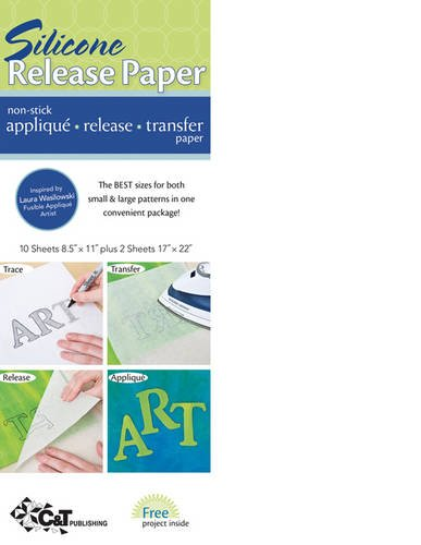 C&T Publishing 20134 Craft Supplies Silicone Release Paper-12/Package C & T Publishing 087799 EP121369383 House & Home