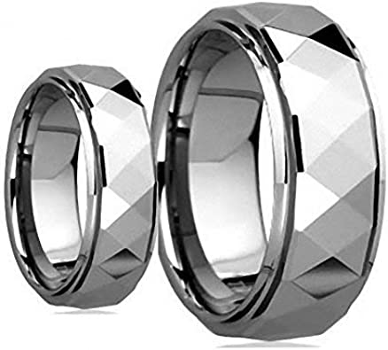 Tungsten Ring Set Faceted-1-1 product image 9