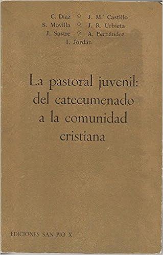 LA PASTORAL JUVENIL: DEL CATECUMENADO A LA COMUNIDAD CRISTIANA: Amazon.es: DÍAZ, CARLOS; CASTILLO, JOSÉ M.; MOVILLA, SECUNDINO: Libros
