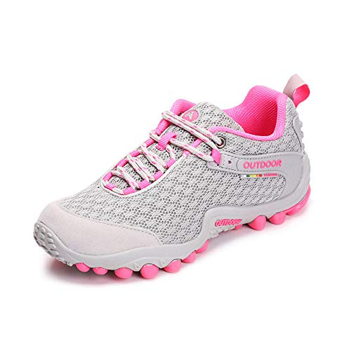 695873502b3a Men Women s Hiking Shoes Anti-Slip Lightweight Breathable Quick-Dry  Trekking Shoes for Women