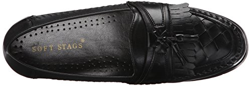 Randy Mens Slip Black Stags Soft On Stags Soft Loafer IHxnFxR1