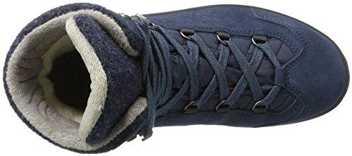 Bleu Chaussures Randonnée GTX Basses Blu Femme de Lowa WS Calceta II SqAIwgza