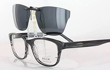 df8fc230a8 Amazon.com  KLIIK 494-51X19 POLARIZED CLIP-ON SUNGLASSES (Frame NOT  Included)  Health   Personal Care