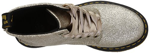 Martens gold 714 Mujer Pascal Dr Botines Pu Glitter Glitter Gold 1460 Para 7xwq8Rd