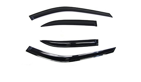 JDM Out-Channel Vent Visors 5pcs Deflector /& Sunroof BMW E38 740i 95-01