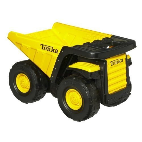 Tonka Toughest Mighty Dump Truck - Classic Steel(age: 3 years and up) (Oversized dump truck measures 18 by 11-1/4 inches; 6-1/2-inch - Toughest Truck Dump Mighty Tonka