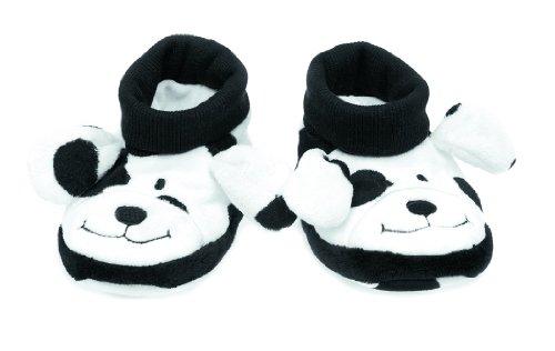 Dalmatian Booties - Teddykompaniet LE Dalmatian Baby Booties, 6-12 Months - 4027