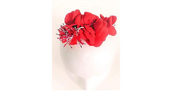 assorted colors 4 mm Rougecaramel Headband thin child 10 flowers set of 2 pcs