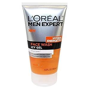 L'oreal Hydra Energetic Face Wash Icy Gel Cryo-tonic, 5 Fl Oz