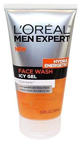 L'oreal Hydra Energetic Face Wash Icy Gel Cryo-tonic, 5 Fl Oz (Hydra Tonic)