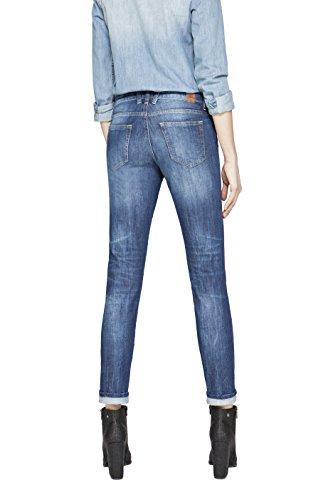 para Jeans Blue Denim Azul 7 Mujer Ajustados REPLAY Katewin UBxaqw4