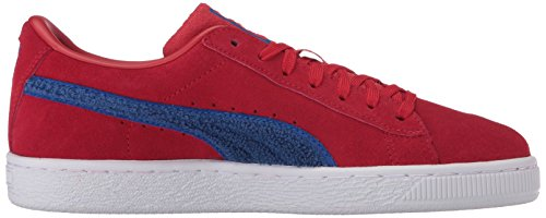 PUMA Baby Suede Classic Terry Kids, Toreador-Lapis Blue, 8 M US Toddler