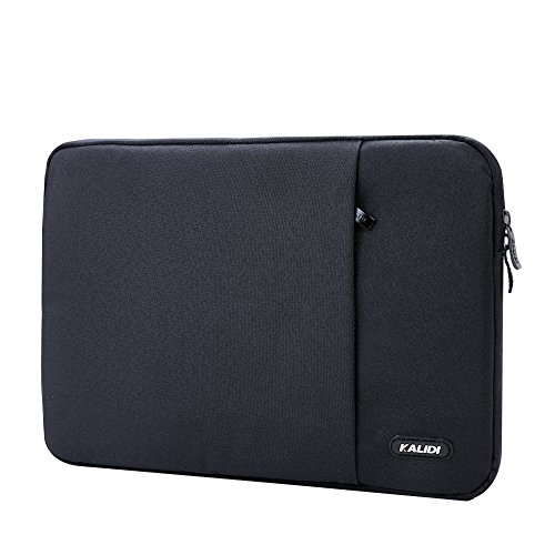 KALIDI 12 Inch Laptop Sleeve Case Bag for Surface Pro3 / Pro 4 / Macbook Pro Retina / ThinkPad S1 Yoga Series / Dell XPS 13, Black (S1 Series Laptop)