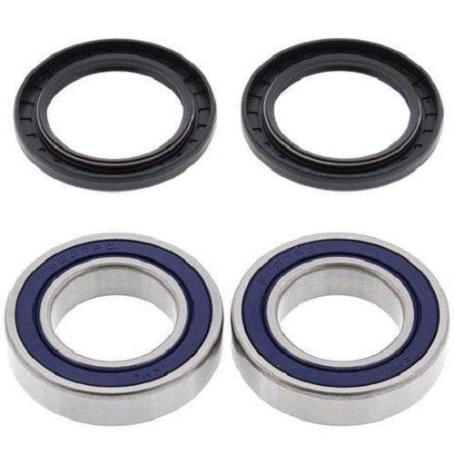 (BossBearing Rear Axle Bearings and Seals Kit for Polaris Trail Boss 350L 2x4 1990 1991 1992 1993)