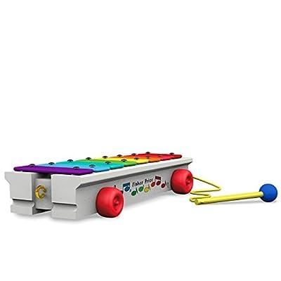 Hallmark Keepsake 2020 FISHER-PRICE Pull-a-Tune Xylophone Christmas Ornament: Home & Kitchen