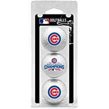 Chicago Cubs World Series Champions 2016, 3-pack Golf Balls