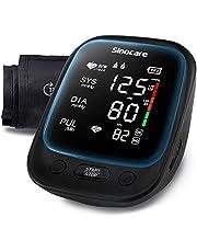 Sinocare Blood Pressure Monitor, Upper Arm Automatic Blood Pressure Monitors with Large Cuff 22-42 cm BP Machine (Black)