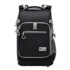 Product Description:Backpack size:length 29cm* width 22cm* height 47cmWeight: 4.4 Pounds (2.0 kg)Product Features: 1.The plug-in camera bulkhead can be constructed as a number of small spacers, each of which can accommodate a standard ...