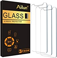 Ailun Glass Screen Protector Compatible for iPhone 12/iPhone 12 Pro 2020 6.1 Inch 3 Pack Case Friendly Tempere