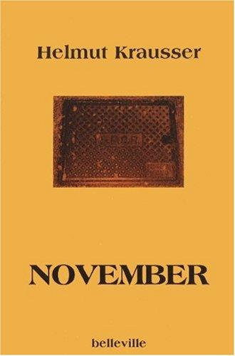 November: Tagebuch des November 1998