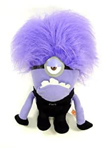 Despicable Me 2 - Evil ONE EYED Purple Minion 10 Plush