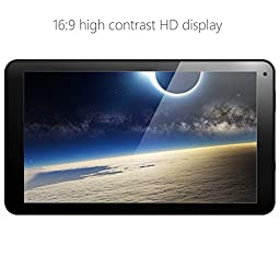 NeuTab 10.1 inch Quad Core Android 6.0 Lollipop OS Tablet PC ,1280x800 IPS Display, Bluetooth 4.0,Dual Camera, Micro HDMI Type D, 1 Year US Warranty, FCC Certified, Black